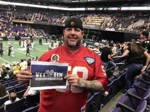 David attended Arizona Rattlers vs. San Diego Strike Force - IFL on Jun 15th 2019 via VetTix