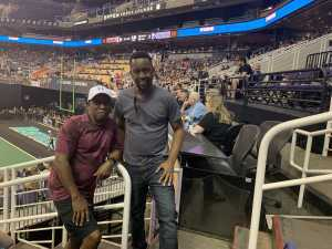Kenneth attended Arizona Rattlers vs. San Diego Strike Force - IFL on Jun 15th 2019 via VetTix