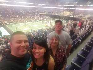 Raphael attended Arizona Rattlers vs. San Diego Strike Force - IFL on Jun 15th 2019 via VetTix