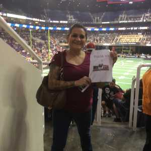 Denise attended Arizona Rattlers vs. San Diego Strike Force - IFL on Jun 15th 2019 via VetTix
