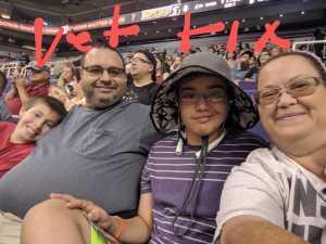 Sebastiano attended Arizona Rattlers vs. San Diego Strike Force - IFL on Jun 15th 2019 via VetTix