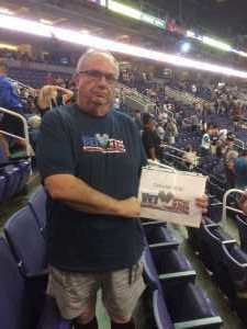 Terry  attended Arizona Rattlers vs. San Diego Strike Force - IFL on Jun 15th 2019 via VetTix