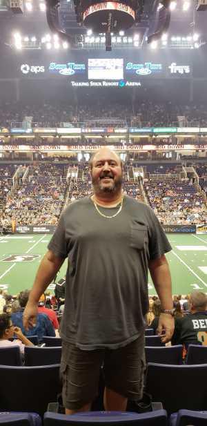 Joel attended Arizona Rattlers vs. San Diego Strike Force - IFL on Jun 15th 2019 via VetTix