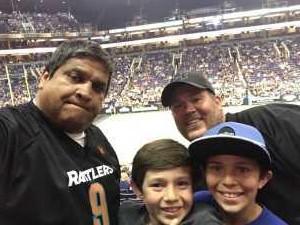 Mike attended Arizona Rattlers vs. San Diego Strike Force - IFL on Jun 15th 2019 via VetTix