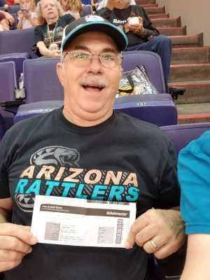 John V attended Arizona Rattlers vs. San Diego Strike Force - IFL on Jun 15th 2019 via VetTix