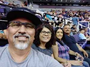 Jose attended Arizona Rattlers vs. San Diego Strike Force - IFL on Jun 15th 2019 via VetTix