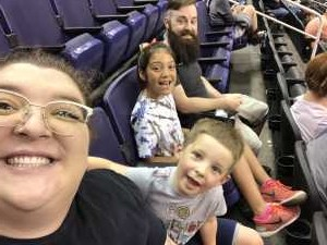 Courtney attended Arizona Rattlers vs. San Diego Strike Force - IFL on Jun 15th 2019 via VetTix