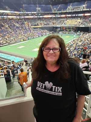 Amy attended Arizona Rattlers vs. San Diego Strike Force - IFL on Jun 15th 2019 via VetTix
