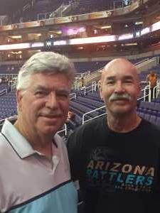 Joseph attended Arizona Rattlers vs. San Diego Strike Force - IFL on Jun 15th 2019 via VetTix
