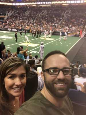 Daniel attended Arizona Rattlers vs. San Diego Strike Force - IFL on Jun 15th 2019 via VetTix