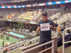 Hank attended Arizona Rattlers vs. San Diego Strike Force - IFL on Jun 15th 2019 via VetTix
