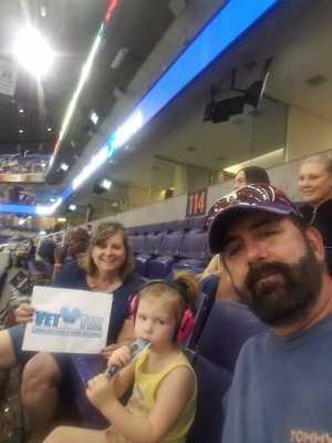 Mark attended Arizona Rattlers vs. San Diego Strike Force - IFL on Jun 15th 2019 via VetTix