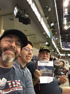 Gregory attended Arizona Rattlers vs. San Diego Strike Force - IFL on Jun 15th 2019 via VetTix