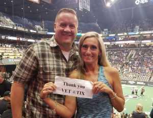 Geoffrey attended Arizona Rattlers vs. San Diego Strike Force - IFL on Jun 15th 2019 via VetTix