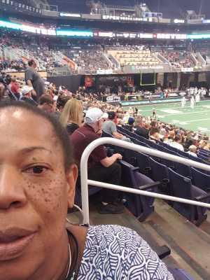 MARY attended Arizona Rattlers vs. San Diego Strike Force - IFL on Jun 15th 2019 via VetTix