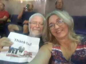 James attended Arizona Rattlers vs. San Diego Strike Force - IFL on Jun 15th 2019 via VetTix