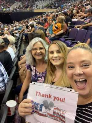Tamara attended Arizona Rattlers vs. San Diego Strike Force - IFL on Jun 15th 2019 via VetTix
