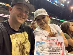 Barry attended Arizona Rattlers vs. San Diego Strike Force - IFL on Jun 15th 2019 via VetTix