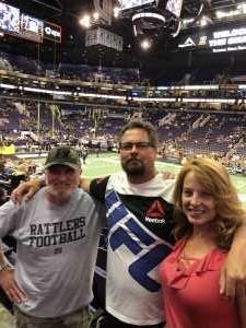 Alan attended Arizona Rattlers vs. San Diego Strike Force - IFL on Jun 15th 2019 via VetTix