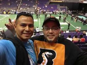 Jesus attended Arizona Rattlers vs. San Diego Strike Force - IFL on Jun 15th 2019 via VetTix