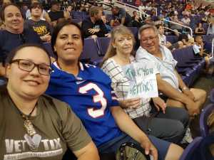 Alissa attended Arizona Rattlers vs. San Diego Strike Force - IFL on Jun 15th 2019 via VetTix