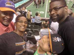 Kimberly attended Arizona Rattlers vs. San Diego Strike Force - IFL on Jun 15th 2019 via VetTix