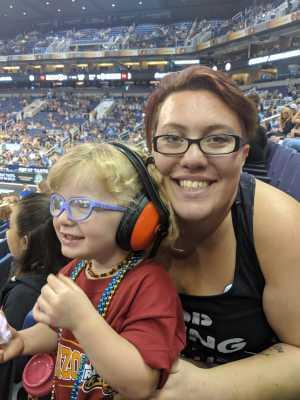 Kimberly attended Arizona Rattlers vs. San Diego Strike Force - IFL on Jun 15th 2019 via VetTix