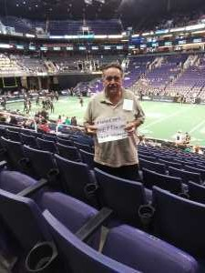 Norman attended Arizona Rattlers vs. San Diego Strike Force - IFL on Jun 15th 2019 via VetTix