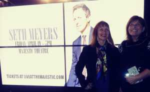 Barbara attended Seth Meyers - Comedy on Apr 19th 2019 via VetTix
