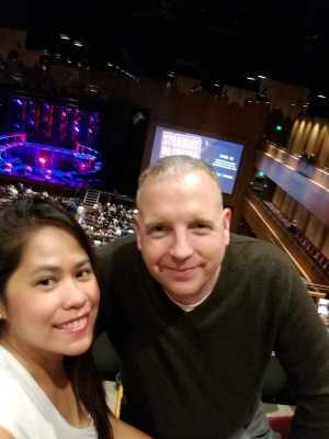 PAUL attended Derek Hough Live! Tour on Apr 19th 2019 via VetTix