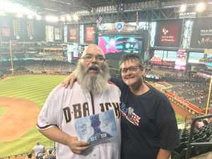 Trevor attended Arizona Diamondbacks vs. Chicago Cubs - MLB on Apr 26th 2019 via VetTix
