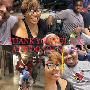 Kerrie attended Arizona Diamondbacks vs. Chicago Cubs - MLB on Apr 26th 2019 via VetTix