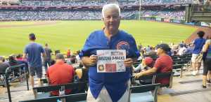 David attended Arizona Diamondbacks vs. Chicago Cubs - MLB on Apr 26th 2019 via VetTix