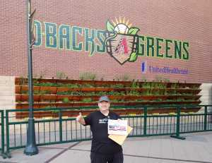 Steve attended Arizona Diamondbacks vs. Chicago Cubs - MLB on Apr 26th 2019 via VetTix