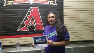 Leonard attended Arizona Diamondbacks vs. Chicago Cubs - MLB on Apr 26th 2019 via VetTix