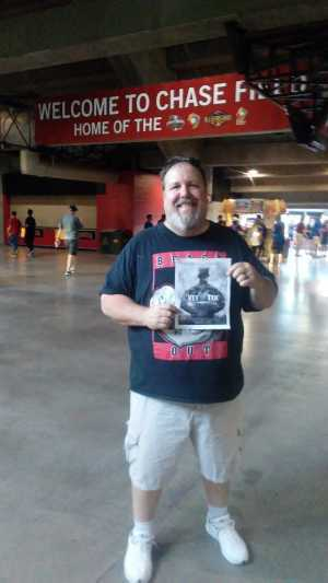 michael lents attended Arizona Diamondbacks vs. Chicago Cubs - MLB on Apr 26th 2019 via VetTix