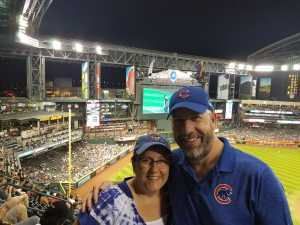 Steven attended Arizona Diamondbacks vs. Chicago Cubs - MLB on Apr 26th 2019 via VetTix