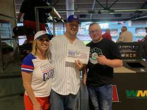 Scott attended Arizona Diamondbacks vs. Chicago Cubs - MLB on Apr 26th 2019 via VetTix