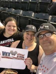 John attended Arizona Diamondbacks vs. Chicago Cubs - MLB on Apr 26th 2019 via VetTix