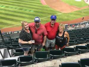 Trent attended Arizona Diamondbacks vs. Chicago Cubs - MLB on Apr 26th 2019 via VetTix