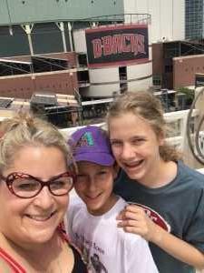 Taime attended Arizona Diamondbacks vs. Atlanta Braves - MLB on May 12th 2019 via VetTix