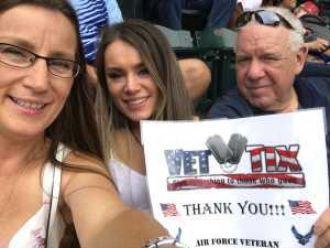 Kelly attended Arizona Diamondbacks vs. Atlanta Braves - MLB on May 12th 2019 via VetTix