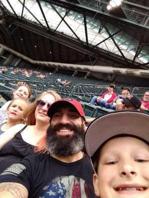 Joshua attended Arizona Diamondbacks vs. Atlanta Braves - MLB on May 12th 2019 via VetTix