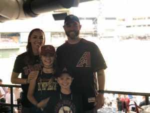 Garrett attended Arizona Diamondbacks vs. Atlanta Braves - MLB on May 12th 2019 via VetTix
