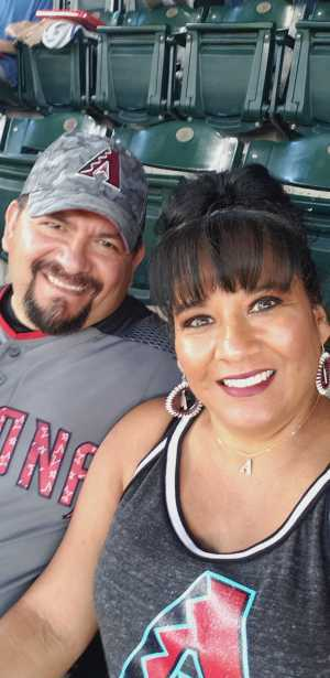 Ricky attended Arizona Diamondbacks vs. Atlanta Braves - MLB on May 12th 2019 via VetTix