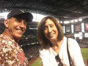 Christopher attended Arizona Diamondbacks vs. Atlanta Braves - MLB on May 12th 2019 via VetTix