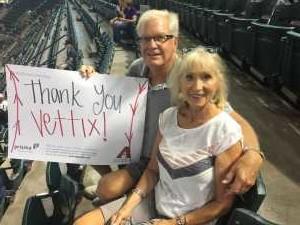 Robert  attended Arizona Diamondbacks vs. Atlanta Braves - MLB on May 12th 2019 via VetTix