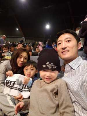 Ryu attended Big Apple Circus - Circus in the Round! - Circus on Apr 26th 2019 via VetTix