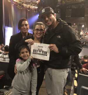 Darwin attended Big Apple Circus - Circus in the Round! - Circus on Apr 26th 2019 via VetTix