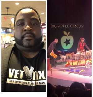 James attended Big Apple Circus - Circus in the Round! - Circus on Apr 26th 2019 via VetTix